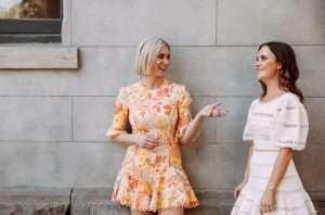 Chloe Mcleod and Jess Spendlove