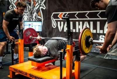 Aidan Muir Bench Press