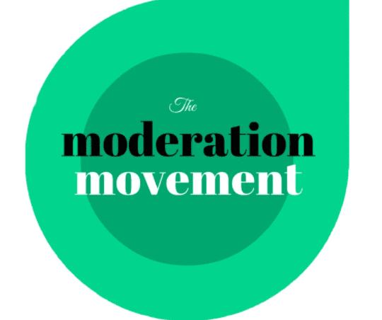 Moderation movement logo