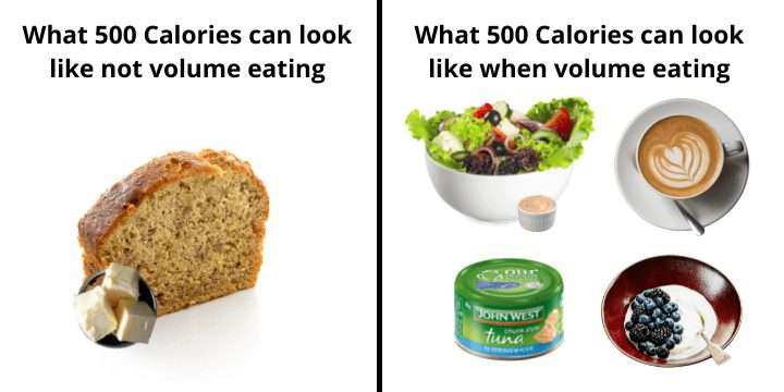 Volume Eating Example